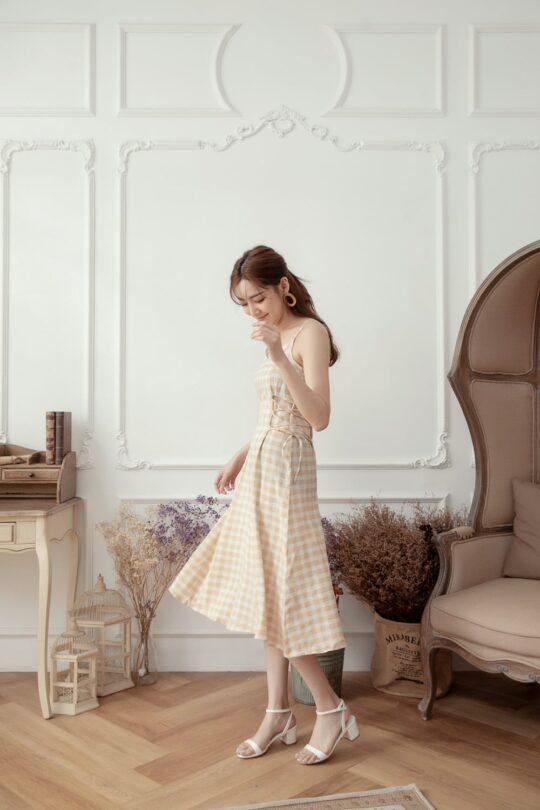 Checker Dress 6