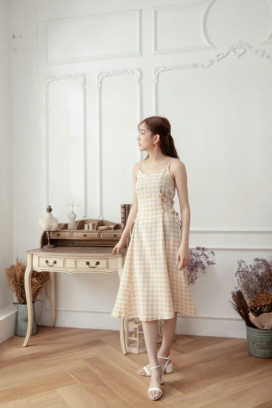 Checker Dress 7