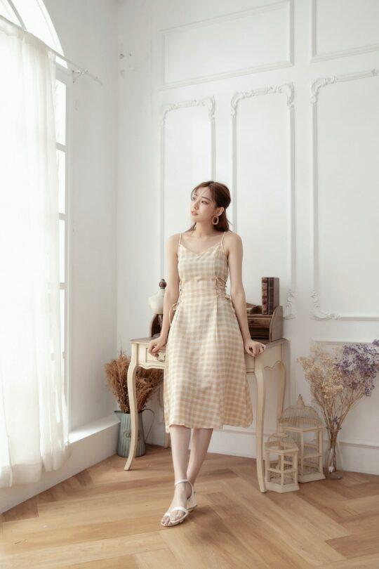 Checker Dress 3