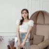 Denim Plaster Skirt 1