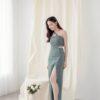 Khloe Cut Out Dress White 1