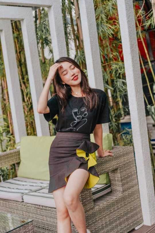 Loewie Skirt Black 7