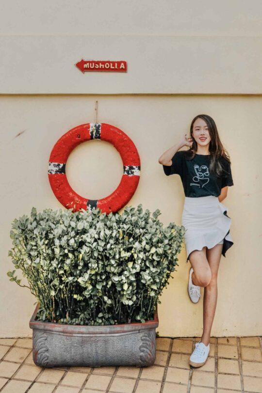 Loewie Skirt White (backorder) 3