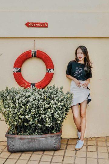 Loewie Skirt White (backorder) 10