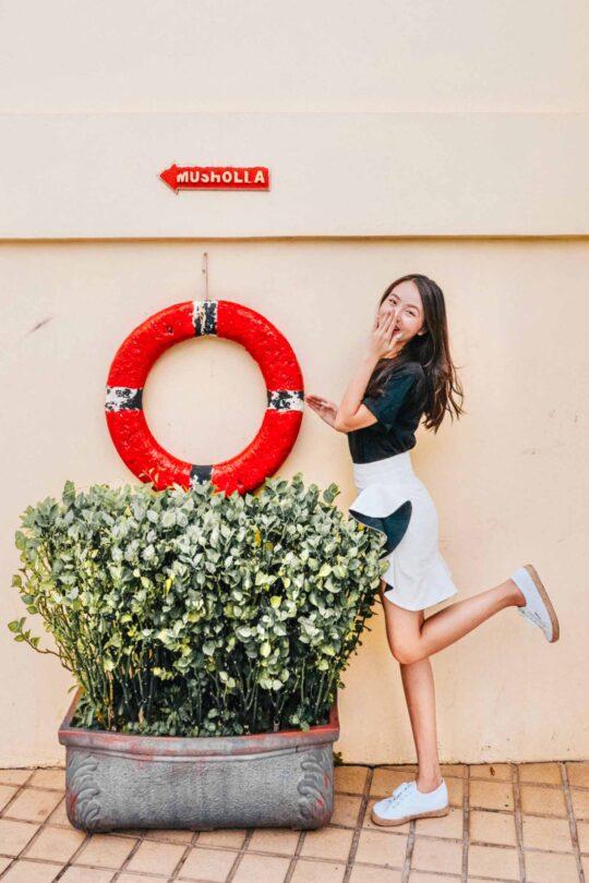 Loewie Skirt White (backorder) 7