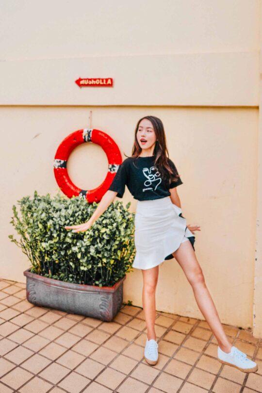 Loewie Skirt White (backorder) 4