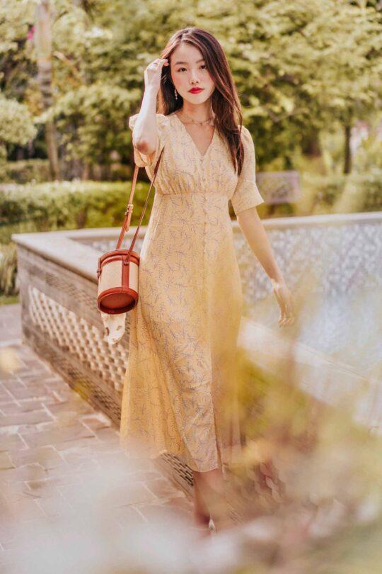 Juju Dress Yellow 3