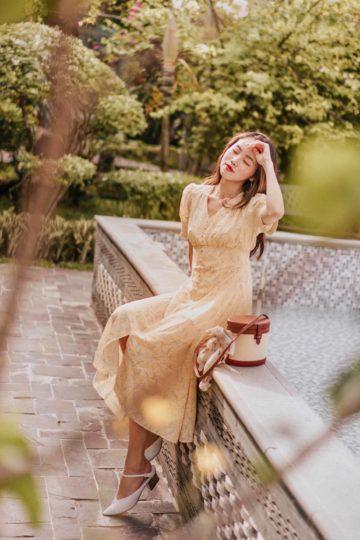 Juju Dress Yellow 9