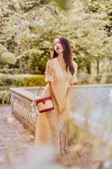 Juju Dress Yellow 11