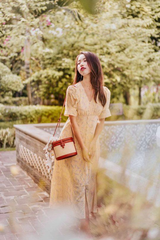 Juju Dress Yellow 7