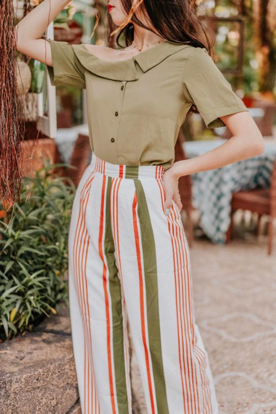 Kylie Pant Stripe 8