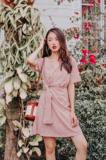 Cloe Dress Khaki 7