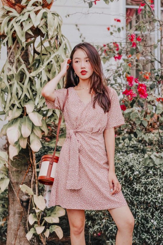 Cloe Dress Khaki 4