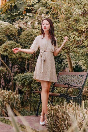Cloe Dress Green 11