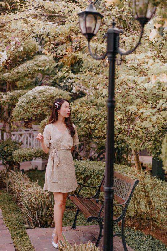 Cloe Dress Green 7