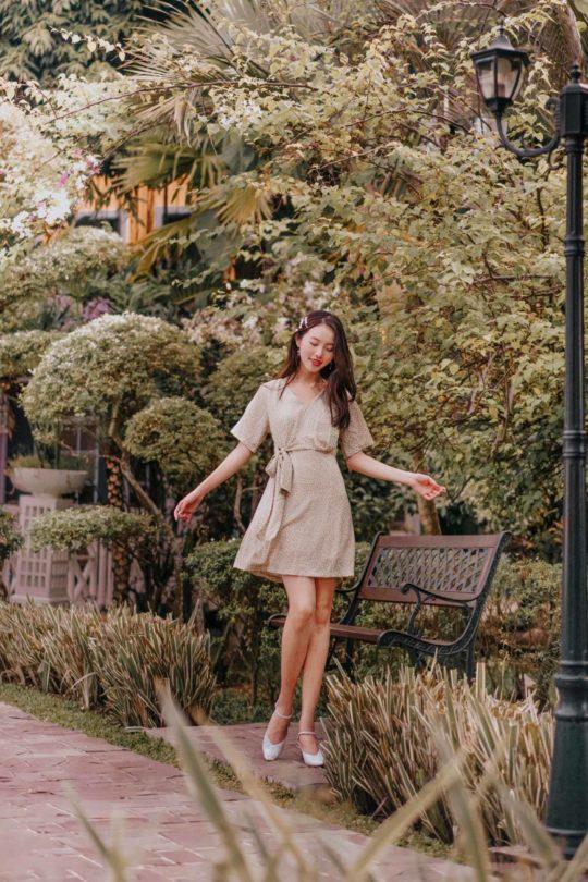 Cloe Dress Green 8